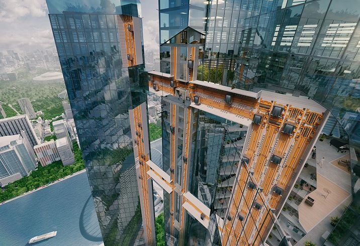 Prepare For Elevators That Move Sideways, Spiral Escalators And Robots Riding Lifts